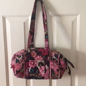 Vera Bradley Small Duffel Mod Floral Quilted Purse